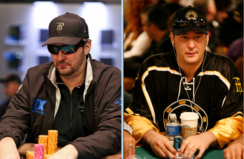 Phil Hellmuth Poker Faces