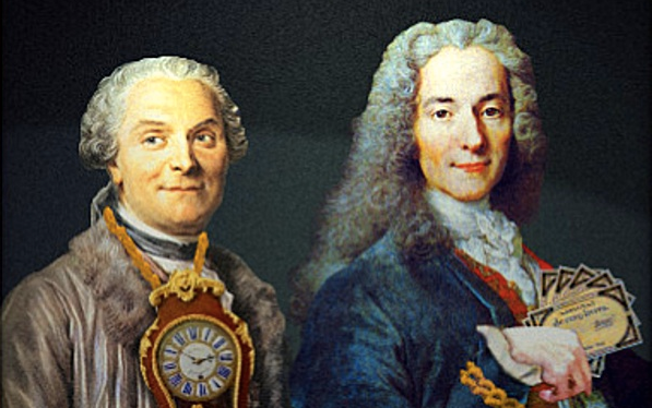 Voltaire und Condamine