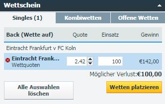 Frankfurt - Köln