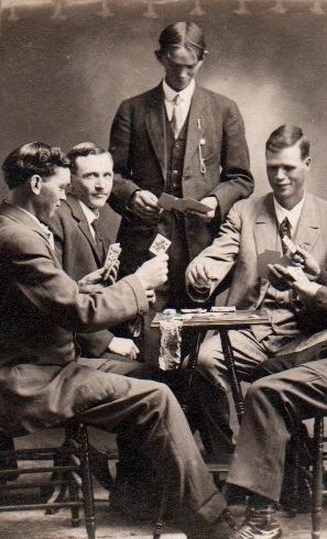 Poker manliness