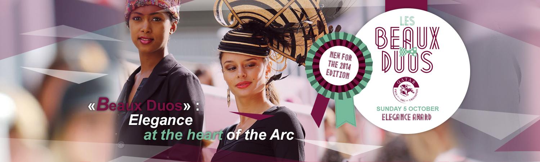 Qatar Prix de l'Arc de Triomphe Elegance Award Les Beaux Duos