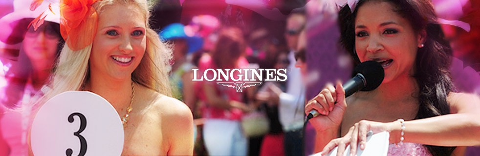 Longines Kentucky Oaks Fashion Contest ganz in Pink