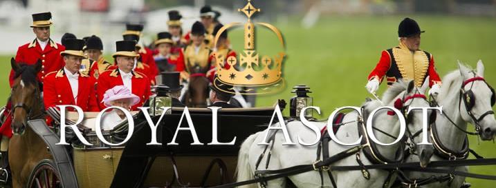 Royal Ascot Einzug der Königsfamilie