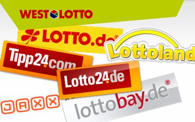 Snapshot einiger privater Lottoanbieter in Deutschland