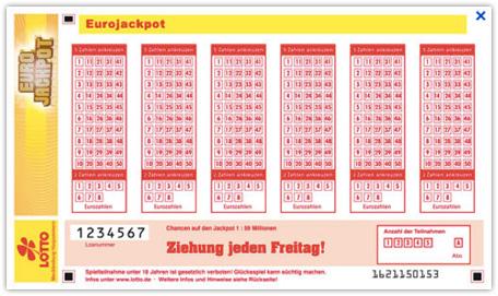 lotto tippschein