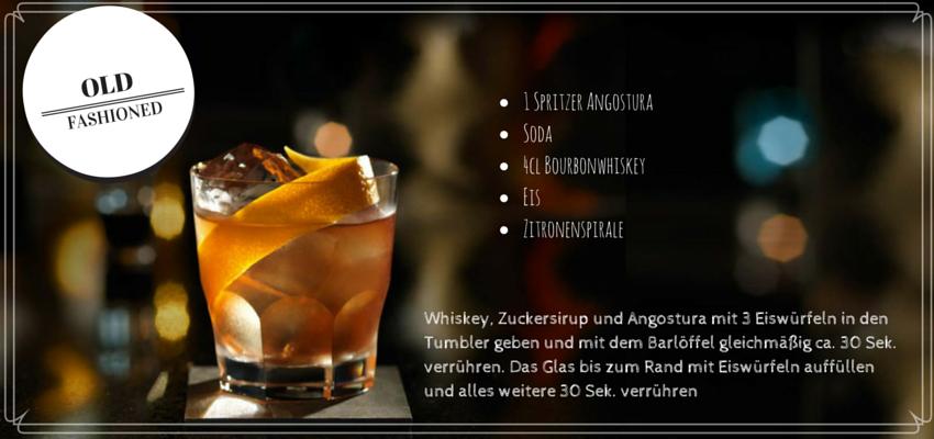 Cocktailrezept old fashioned