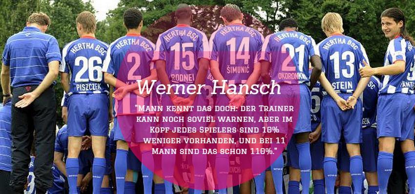 Kommentar von Sport-Journalist Werner Hansch