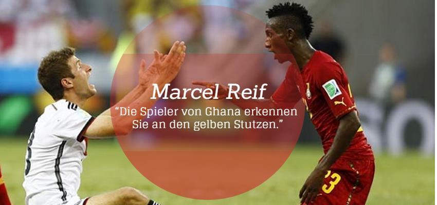 Kommentar von Marcel Reif zum Länderspiel Ghana gegen Deutschland