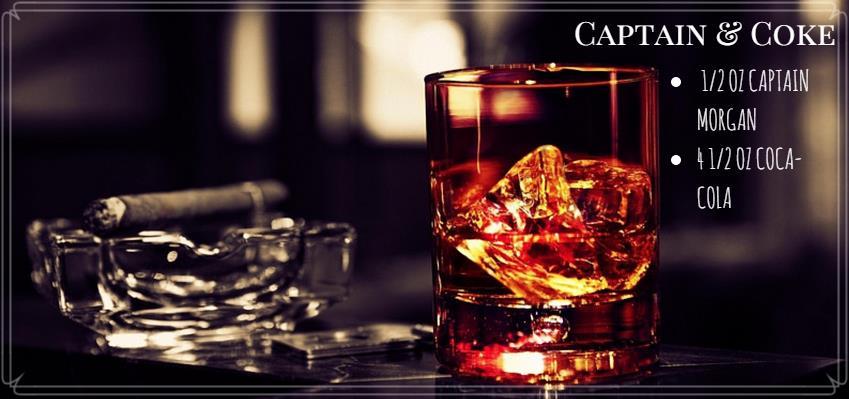 Cocktailrezept für Captain and Coke
