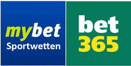 Buchmacher im Vergleich: Mybet oder Bet365