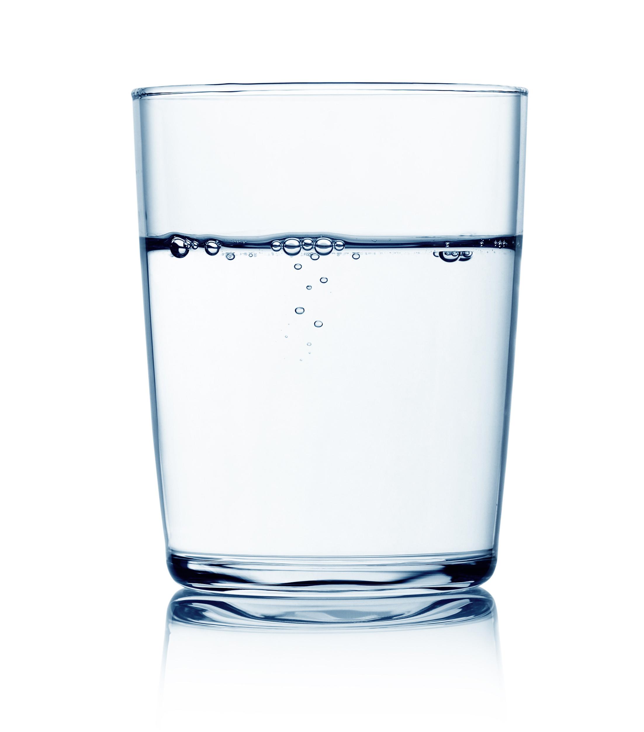 Bild eines Glas Wassers