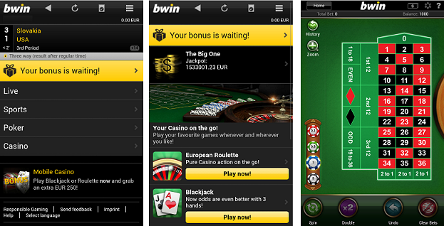 bwin mobile website