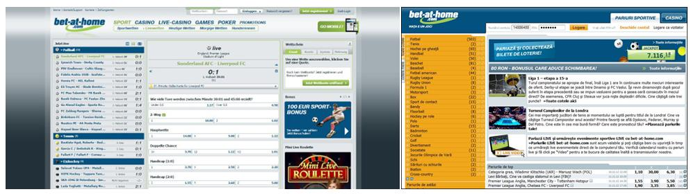Live Stream des Anbieter bet at home