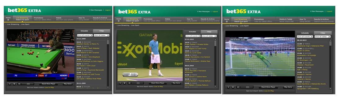 Live Stream des Anbieters bet365