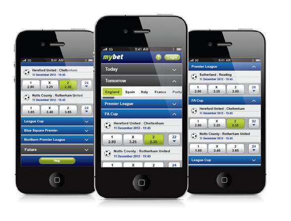 Mybet App: per Web-App für Android und iPhone von unterwegs wetten