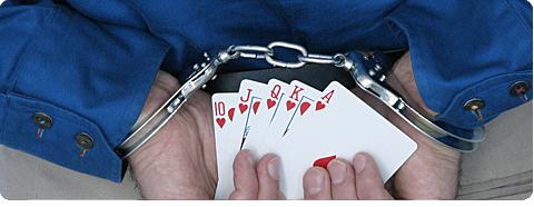 Poker ist in Deutschland illegal