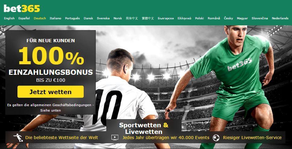 bet365 100 euros