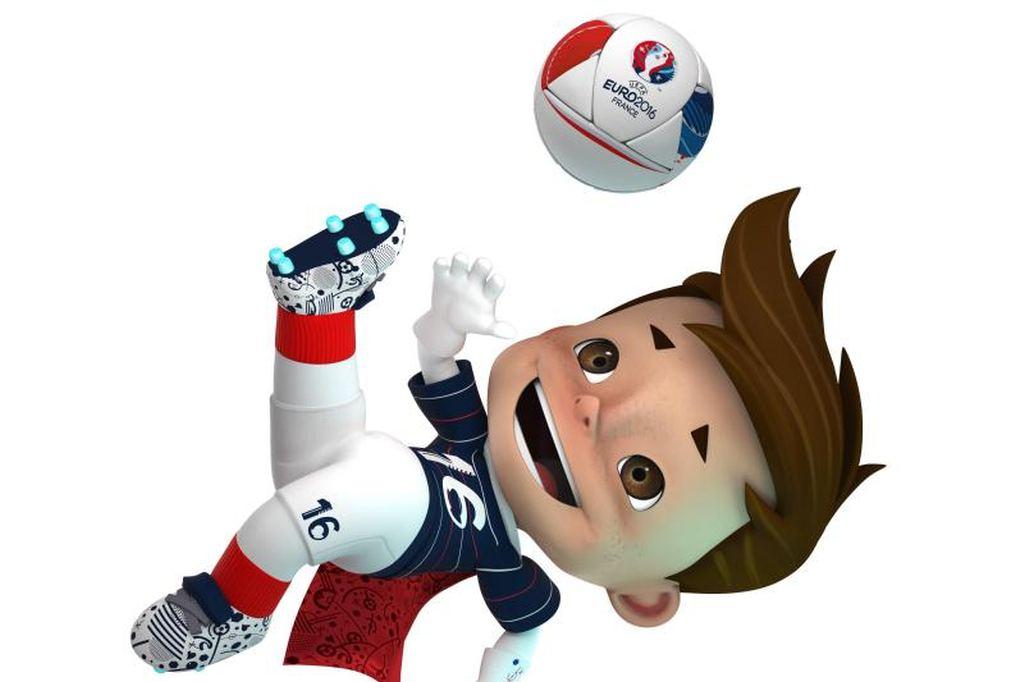Super Victor_Maskottchen der EURO2016