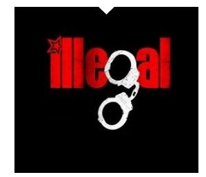 illegal verboten