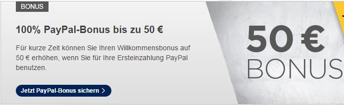 bonus paypal bet3000