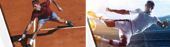 tennis & football