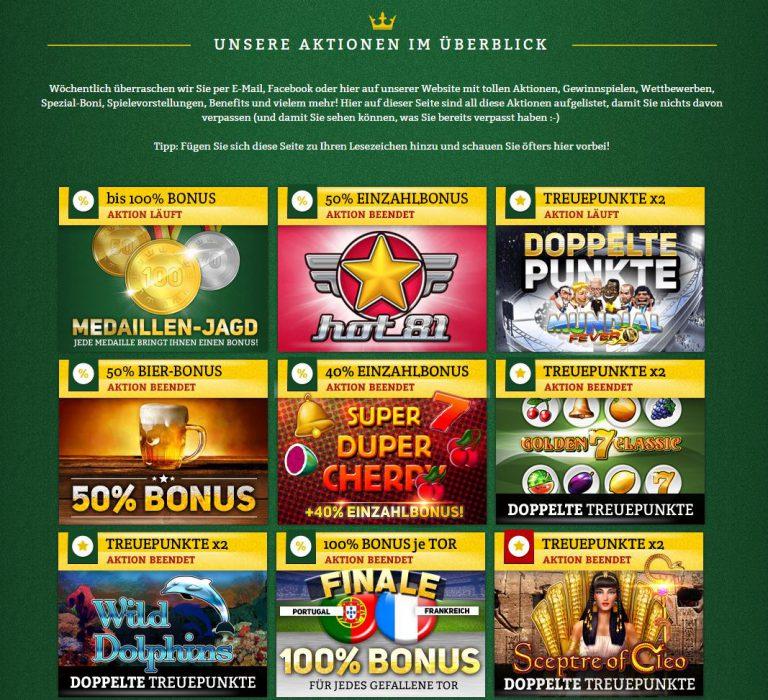 Online Casino.De Gutscheincode