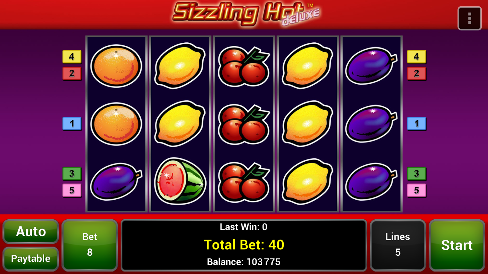 sizzling hot online casino book of ran