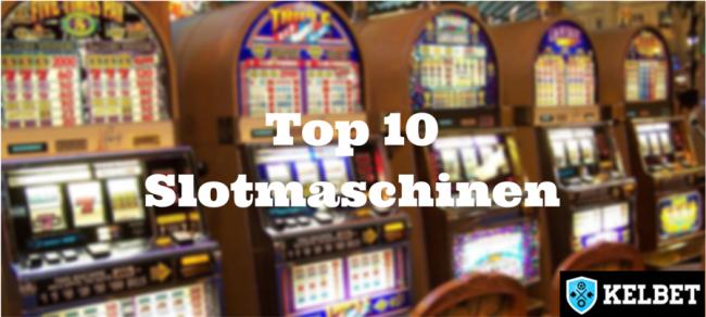 Die Top 10 besten online Slotmaschinen: Ein Handbuch für Anfänger