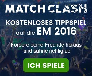 Match Clash Kostenloses tippspiel auf die em 2016