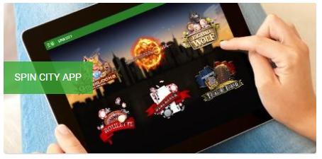 Spin City App Unibet