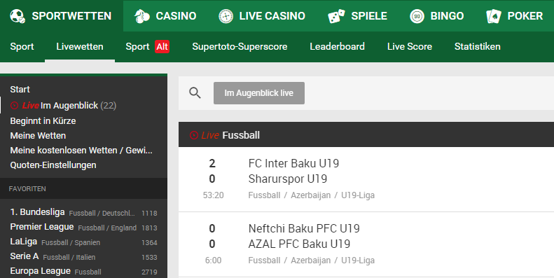 unibet-test-livewetten screenshot