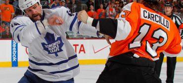Die 5 größten Eishockey-Kämpfe aller Zeiten