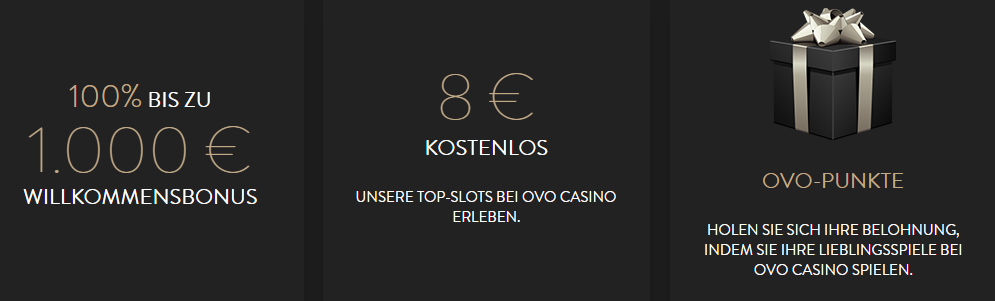 ovo casino test