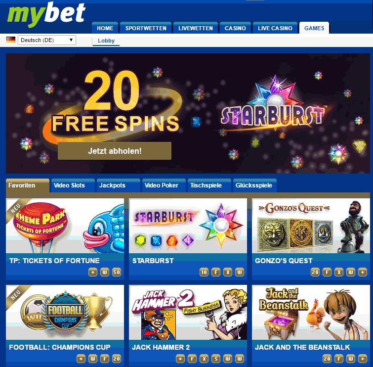 mybet games