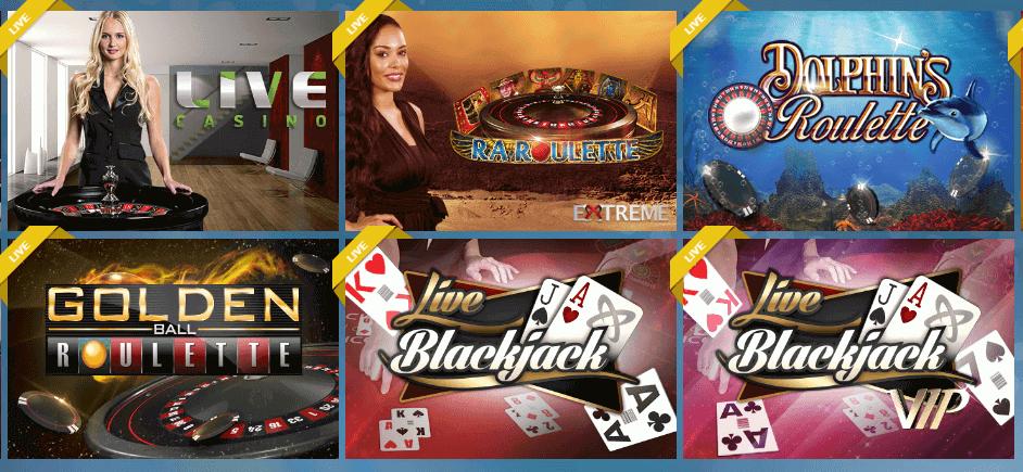 live casino Sunmaker