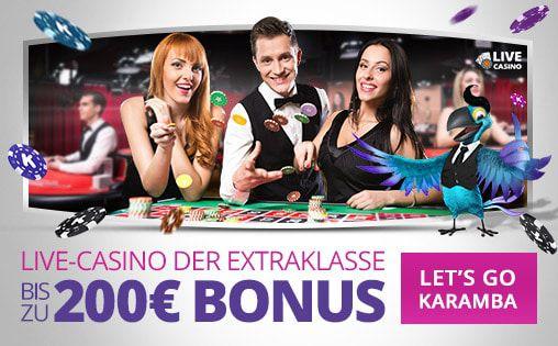 Bonus code Live-Casino Karamba Casino