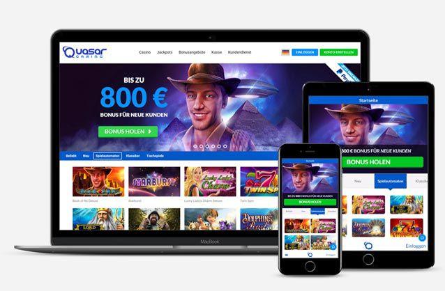 Quasar Gaming App