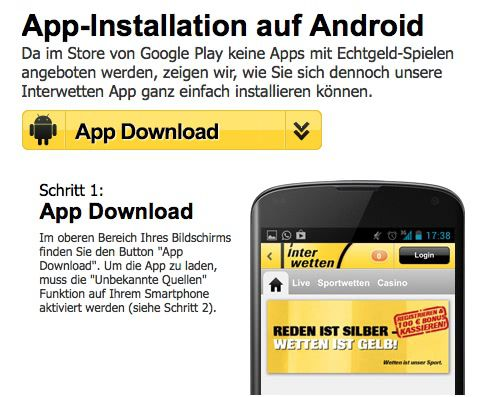 interwetten-android-app