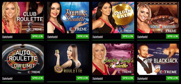 Live Casino Cashpot Casino
