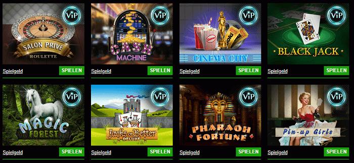 VIP-Programm Cashpot Casino