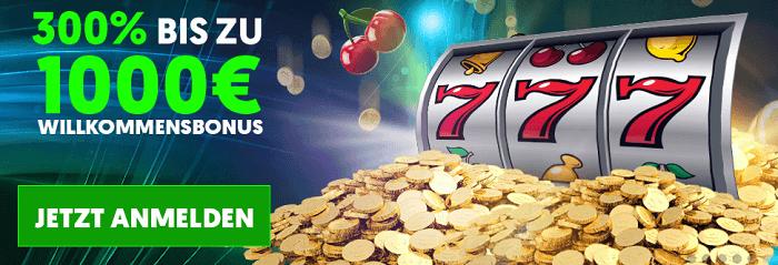 Willkommens-Angebot Cashpot Casino