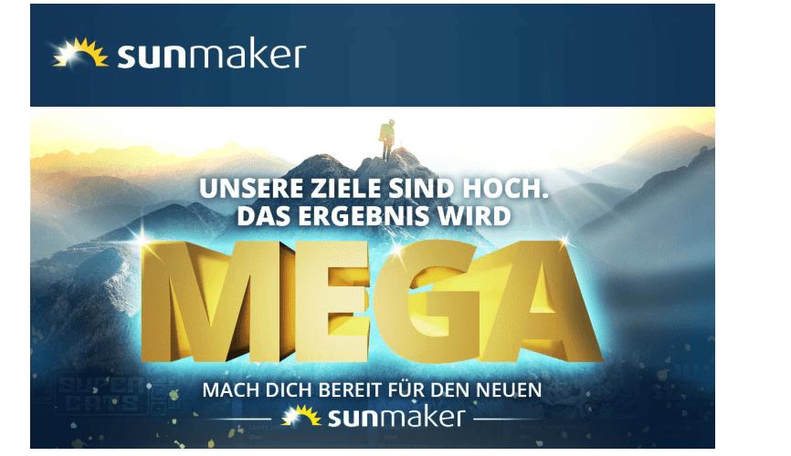 Sunmaker gutscheincode