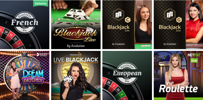 Play Jango Live Casino