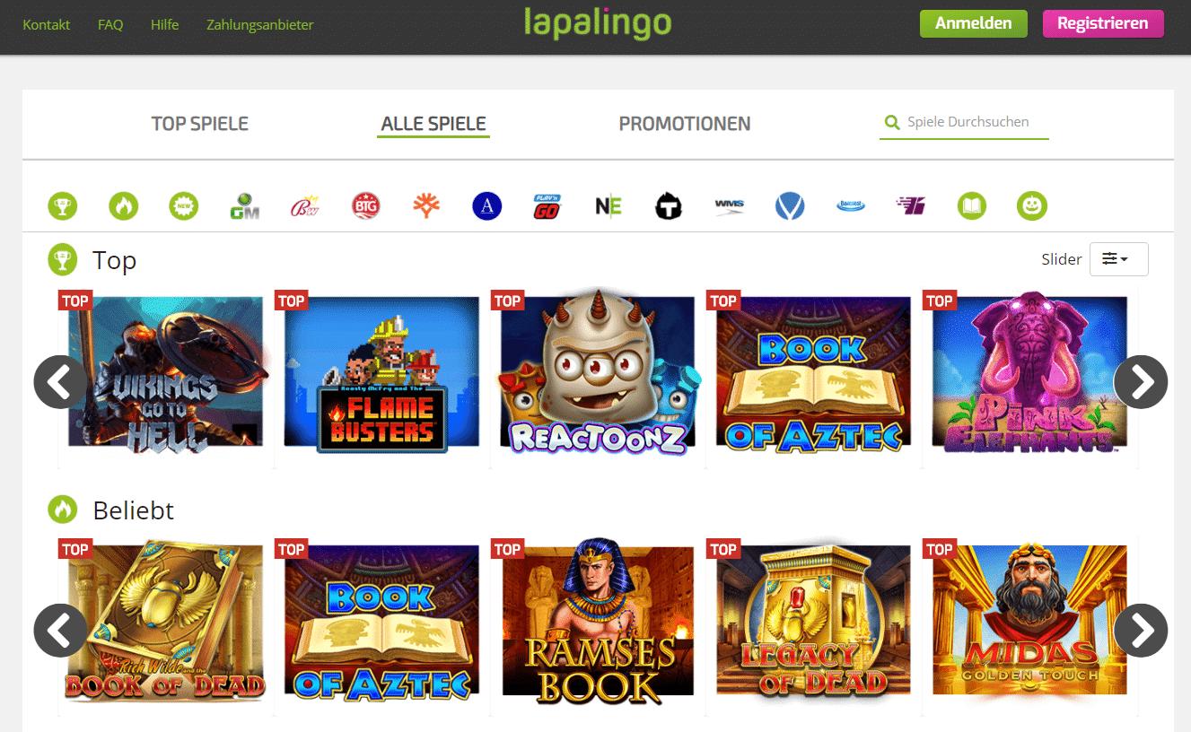 Lapalingo Spiele