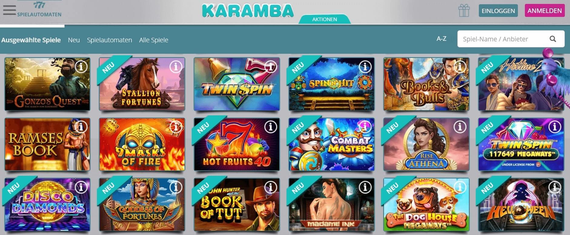 Karamba Erfahrung