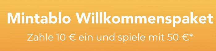Mintablo Willkommmenspaket