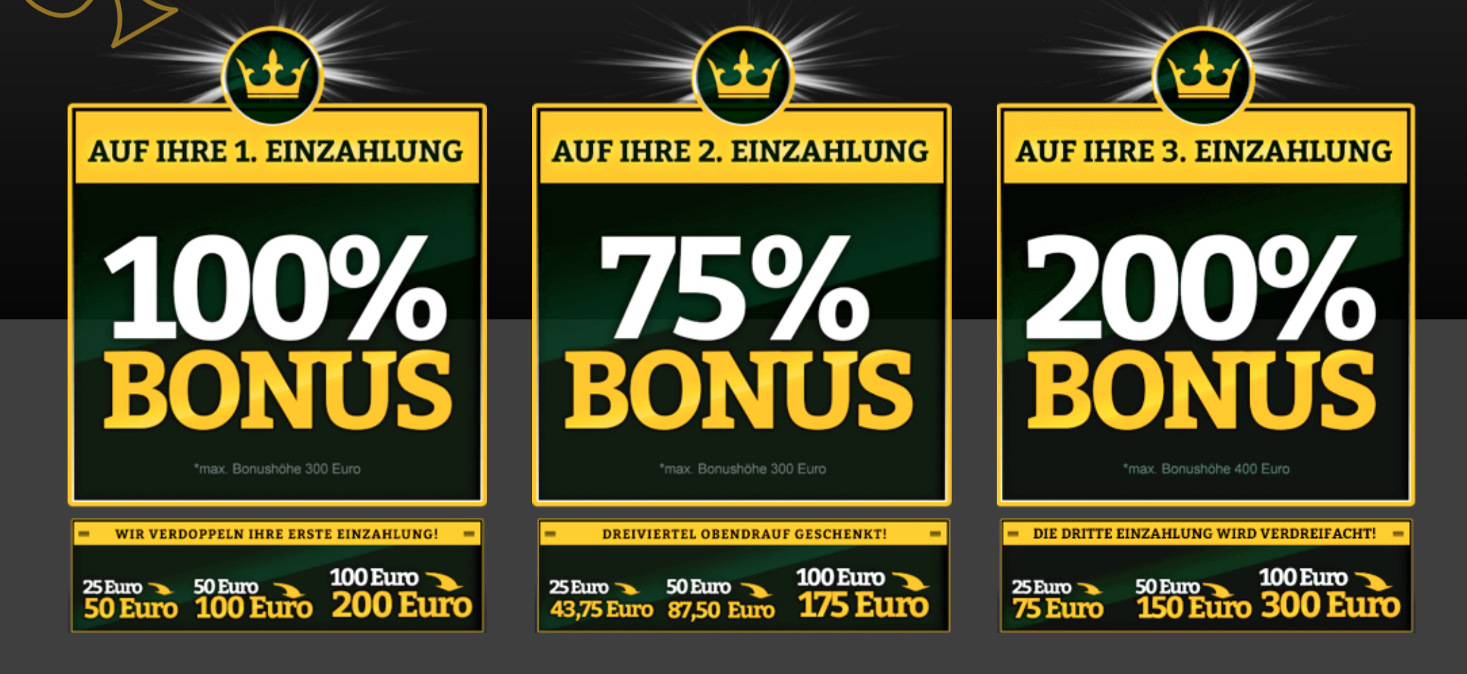 Bonus-Onlinecasino